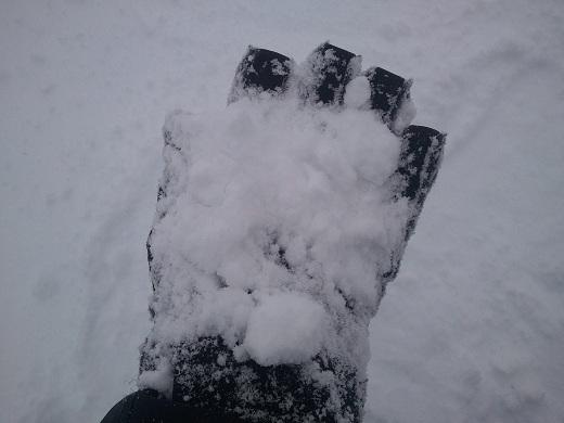 野麦峠の雪