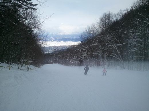北の峰の林間コース