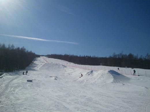 羽鳥湖スキー場のスノーパーク