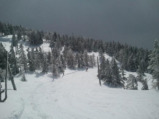 ピラタス蓼科の樹氷コース