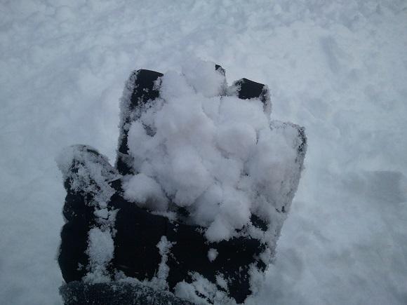 安比高原の雪の見た目
