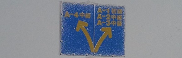 A1・A4等の標識