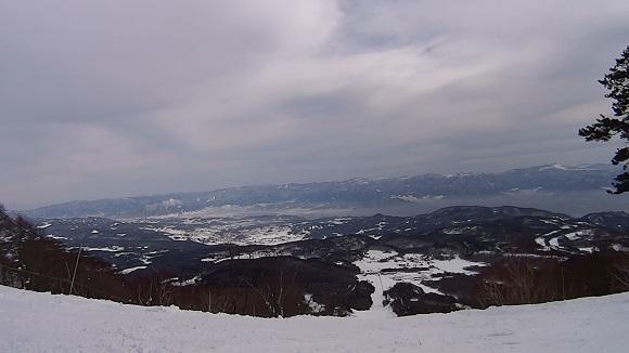 いいづなリゾートの頂上付近からの景色