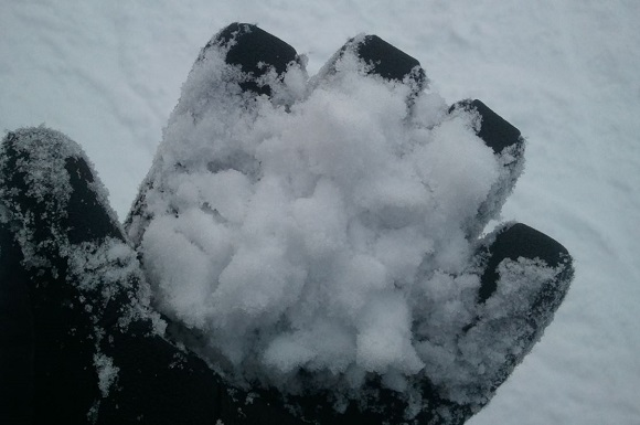 ひるがの高原スキー場の雪の見た目
