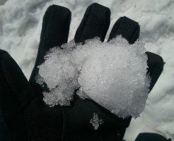 月山スキー場の雪質