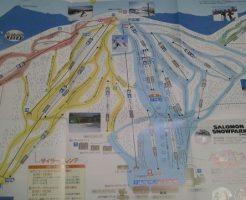 安比高原スキー場のゲレンデマップ