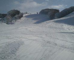 峰の原高原スキー場のゲレンデの見た目
