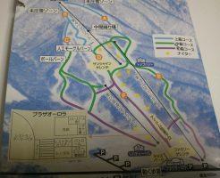 いいづなリゾートのゲレンデマップ
