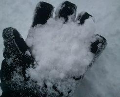 ルスツスキー場の雪の見た目