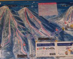 ルスツスキー場のゲレンデマップ