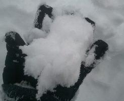 高鷲スノーパークの雪の見た目